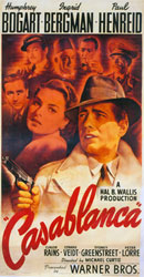 casablanca featuring humphery bogart